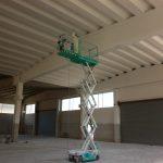 Colorazioni airless capannoni industriali nord Italia