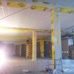 Protezione pilastri e controsoffitto REI