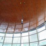 autogrill giovi soffitto acustico in legno