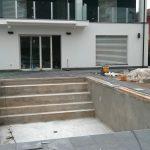 costruzione villa con pistoia piscina