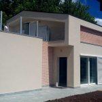 finitura facciata villa