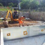 lavori edilizia per piscina stella
